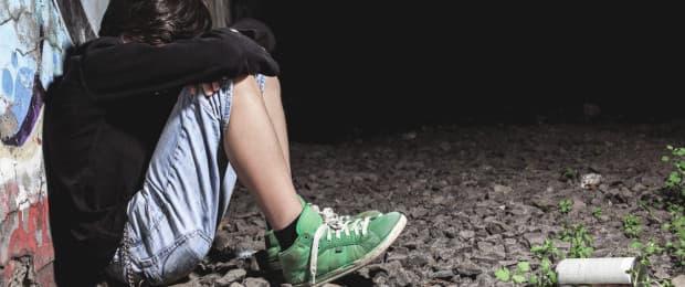 addict hitting rock bottom